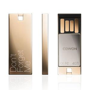 Cowon UM1 USB Flash Drive glossy gold