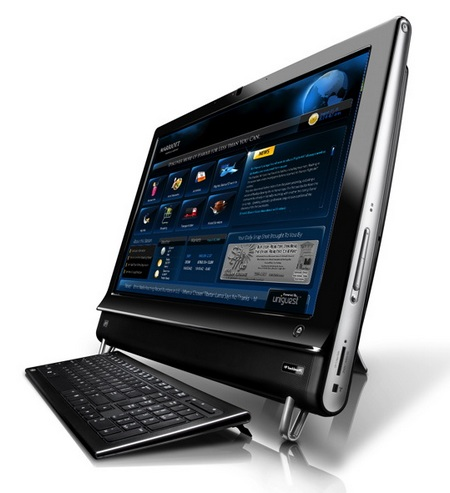 HP TouchSmart 9100 Multitouch Business PC