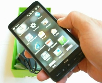 HTC HD2 Unboxing Video