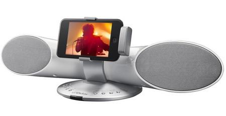 JVC-Victor XS-SR3 iPod Speaker white
