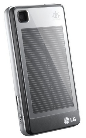 LG GD510 Pop Touchscreen Phone solar panel