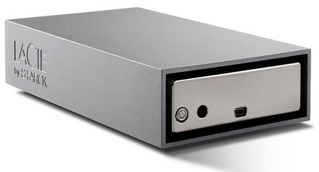 LaCie Starck Desktop Hard Drive back