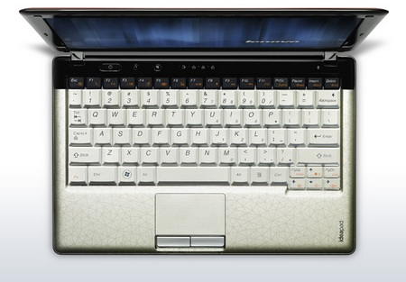 Lenovo IdeaPad U150 CULV Notebook top view