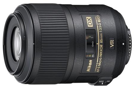 Nikon AF-S DX Micro NIKKOR 85mm f-3.5G ED VR lens
