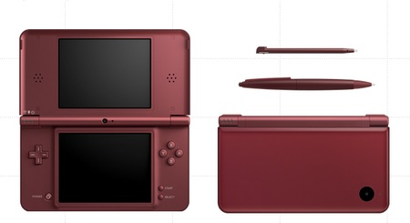 Nintendo DSi LL with 4.2-inch Display red