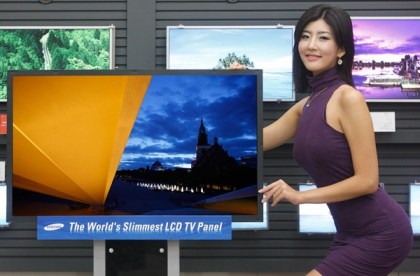 Samsung 40-inch 3mm thin LED-backlight HDTV
