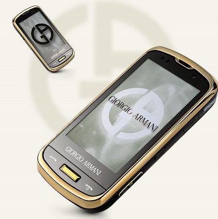 Samsung GIORGIO ARMANI SPH-W8200 Touchscreen Slider 1