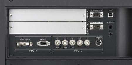 Sanyo LP-XF1000 Dual-lamp Projector connectors