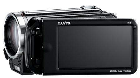 Sanyo Xacti VPC-FH1A Full HD camcorder LCD