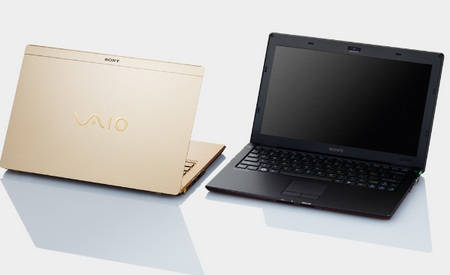 Sony VAIO X - World's Lightest Notebook colors