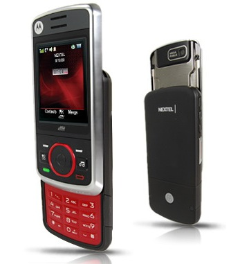 Sprint Motorola Debut i856 Push-to-Talk Slider Phone