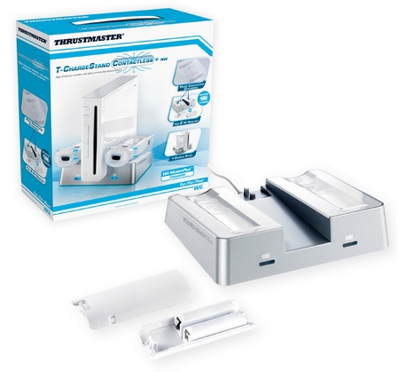Thrustmaster T-Charge Stand Contactless+ NW For Wii
