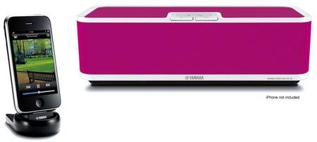 Yamaha PDX-60 Wireless iPhone iPod Audio System Pink