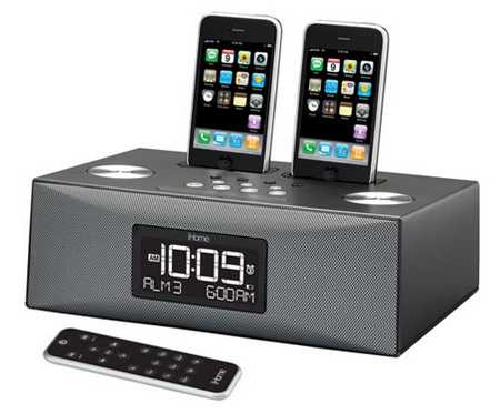 iHome iP88G Dual Dock Audio System for iPod iPhone