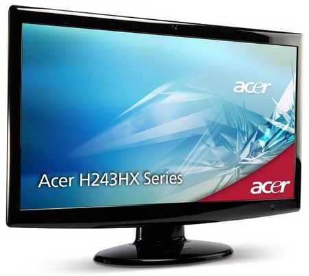 Acer H243HXB 24-inch Full HD LCD with webcam