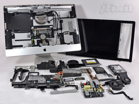 Apple iMac 27-inch Disassembled