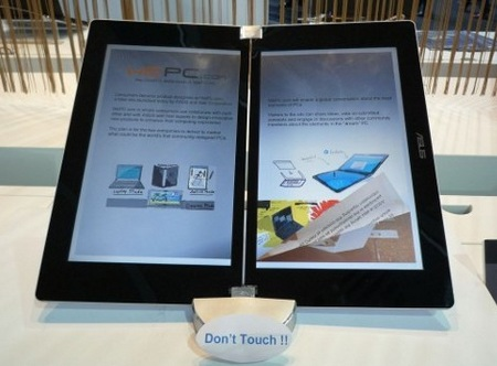 Asus 3G e-book reader coming soon