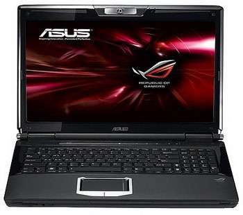 Asus G51J3D and G72GX 3D Notebooks