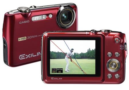 Casio Exilim EX-FS10S Camera makes you a better golfer