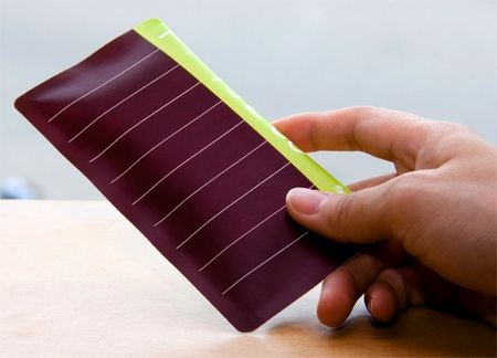 Flexio - Slim Paper-packaged Solar Radio solar cell