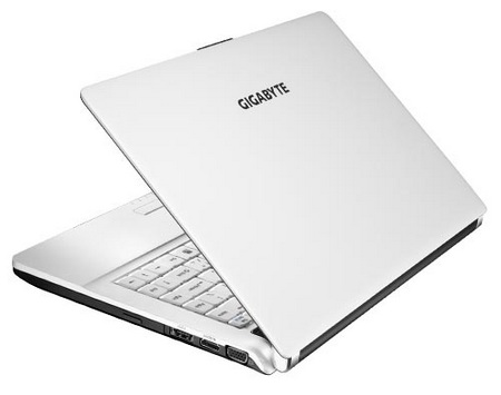 Gigabyte BookTop M1305 CULV Notebook with Docking Station lid
