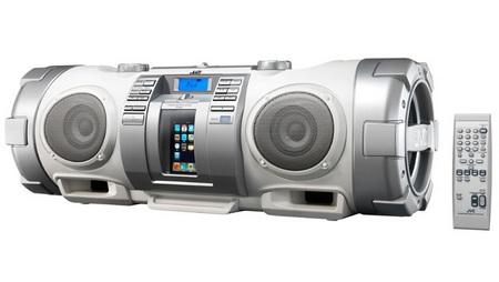 JVC-Victor RV-NB50 CD Boombox with iPod Dock