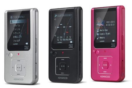 Kenwood Media Keg MG-F500 Series Music Player