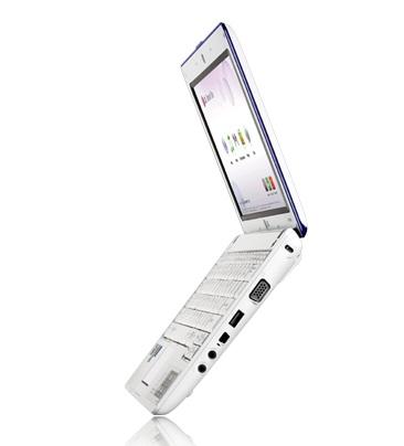LG X120 3G HSDPA Netbook side