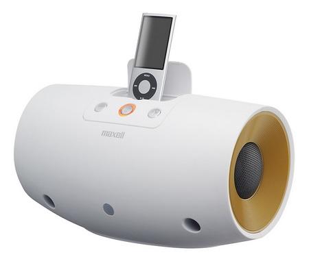 Maxell MXSP-D240 iPod Speaker white