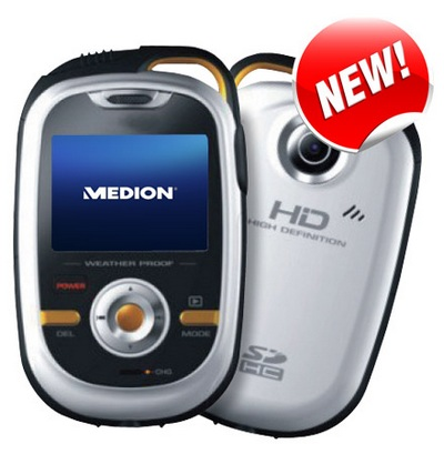 Medion Life S47000 HD Sports Camcorder