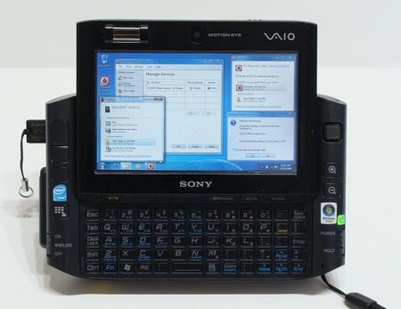 Modded Sony VAIO UX 3G Windows 7