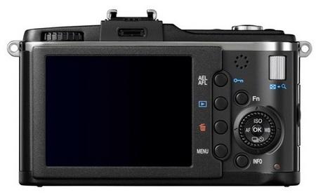 Olympus PEN E-P2 Micro Four Thirds Camera back