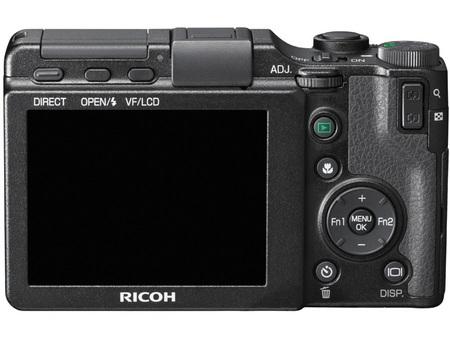Ricoh GXR Camera body back