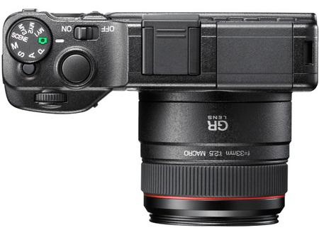 Ricoh GXR Camera body top