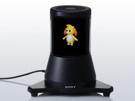 Sony 360-degree 3D Display Prototype