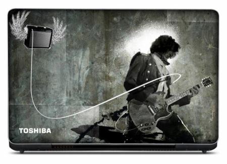 Toshiba GQ Natural Selection Joe Perry Qosmio X505