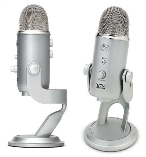 Yeti USB Condenser Mic - The First THX Certified Microphone