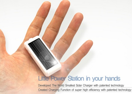 ZyRUS Sun Drive Solar Charger doubles as USB Flash Drive on hand
