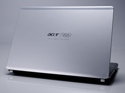 Acer Olympics Edition Notebooks and LCD Displays