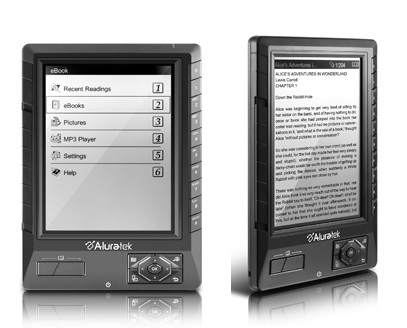 Aluratek Libre eBook Reader PRO Digital Reader