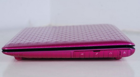 Asus Eee PC Seashell 2 1008P Karim Rashid Edition right