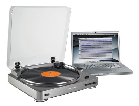 Audio-Technica AT-LP60-USB LP-to-Digital USB Turntable System