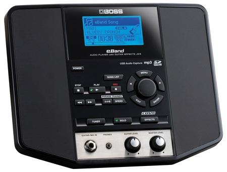 BOSS eBand JS-8 Audio Player for Guitarists