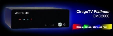 CiragoTV Platinum CMC2000 HD Media Center