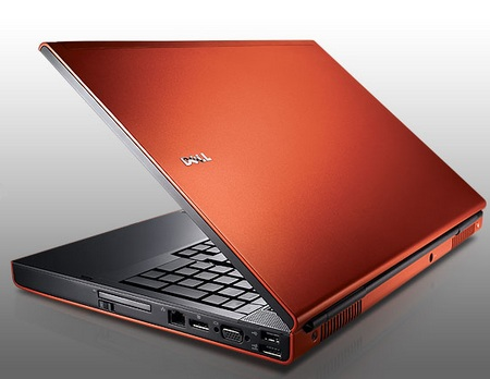 Dell Precision M6500 Mobile Workstation orange