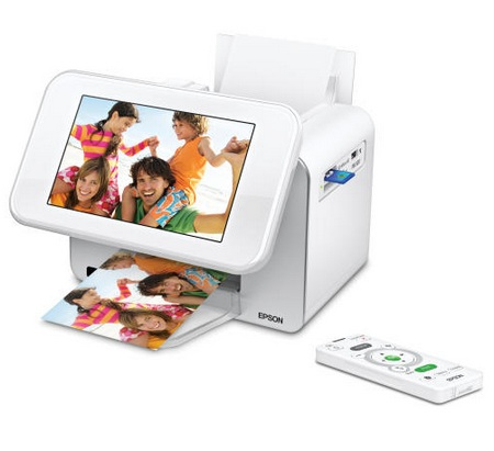 Epson PictureMate Show Two-in-One Digital Frame and Compact Photo Printer