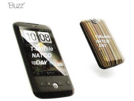 HTC Buzz Android Phone