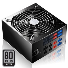 Huntkey X7 900 Power Supply with five +12V rails