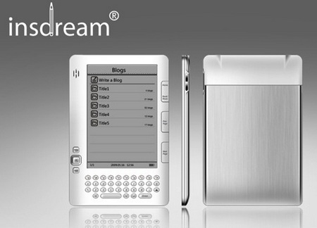 Insdream SX601 6-inch e-book reader
