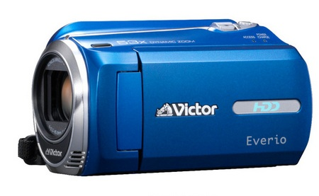 JVC Everio GZ-MG980 Digital Camcorder Blue